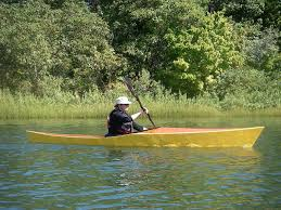 picture of making a plywood kayak