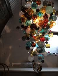 contemporary glass lighting. Uk Hand Blown Glass Atrium Contemporary Glass Chandeliers Beautiful Round  Coloured Unusual Bedroom Contemporary Lighting N