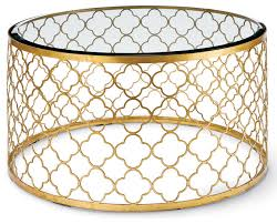 popular of round gold coffee table gable hollywood regency glass gold leaf round coffee table
