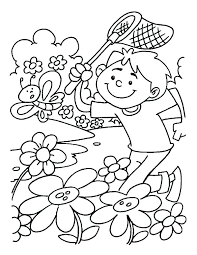 Printable Spring Coloring Pages Spring Sun Free Printable Coloring