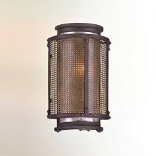 copper mountain outdoor wall sconce by troy lighting