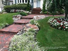 Front Garden Brick Wall Designs Gorgeous Front Yard Landscape Designs With Before And After Pictures
