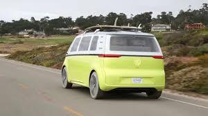 Volkswagen Electric Kombi Van I.D. Buzz EV Concept - YouTube