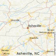 best places to live in asheville north carolina asheville north carolina map