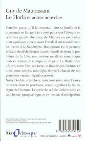 Resume Navigation Mesmerizing Resume De Le Horla De Maupassant Navigation Menu