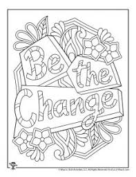I just saw a red closed label and thought it referred to this one. Positive Sayings Adult Coloring Pages Woo Jr Kids Activities