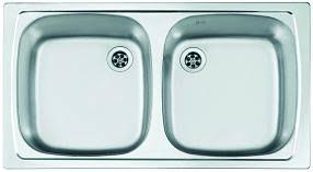 <b>Кухонные мойки</b> форма овальная в Мосплитке