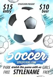 Free Soccer Certificate Templates Free Soccer Flyer Template Download Templates Certificates