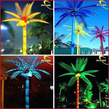 palm tree outdoor light artificial trees with lights a fresh high quality electric fake lighted lighted artificial palm trees fake with lights