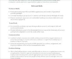 Cv Templates Word 2007 Word Resume Template Office Word Resume Templates Free Ms
