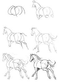 Small Picture how to draw a horse it would be good for me to have a book like