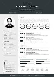 Mono Resume By Ikonome | Graphicriver