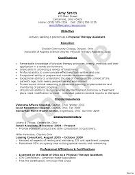 Occupationalerapy Resume Physical Exampleserapist Massage Sample