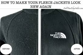 how to remove lint hair and fabric pills from the north face denali fleece jackets fulltimeebayseller
