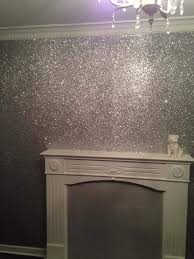 the best way to make a glitter wall