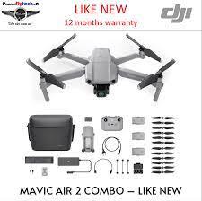 Mavic Air 2 cũ - Combo - Like New - BH 12 tháng - Giá rẻ