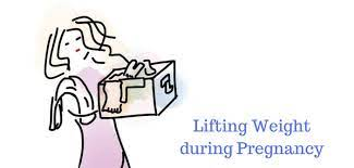 safe to lift up during pregnancy