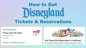 Getting Disneyland Tickets ...