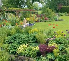 Small Picture Designing garden borders Real Homes