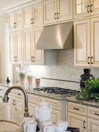 Creativity Kitchen Ideas Antique White Cabinets With A Gas Cooktop Stainless For Models Design