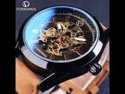 <b>Forsining 2019</b> Casual Sport Series Waterproof Automatic <b>Men</b> Wrist ...