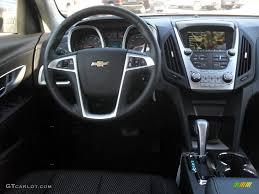 2012 Chevrolet Equinox LT Jet Black Dashboard Photo #55392987 ...