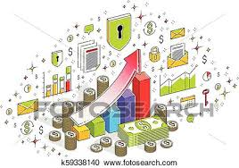 Growth Chart Design Success And Income Increase Concept Growth Chart Stats Bar