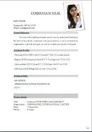 Resume Format For Jobs Download Resume Format For Jobs Resume Format