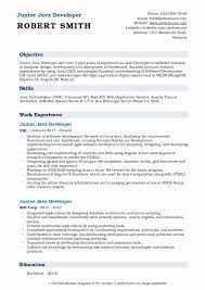 Created client library that provided load balanced and fault tolerant consumption of spring boot microservices from monolithic application. Junior Java Developer Resume Samples Qwikresume