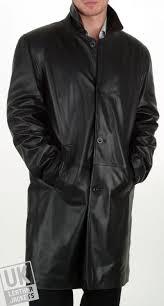 men s leather coat plus size walker cover