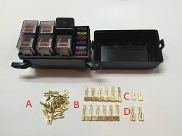 car seat relay fuse box engine compartment insurance car car seat relay fuse box 5 engine compartment insurance car insurance holder include 5 relay 12v