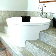 small soaking bathtub round idea tub sizes deep bathroom size of tile smal