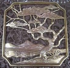 syroco wood 12 inch wall plaque
