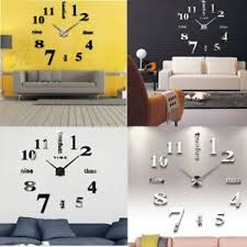 large office clocks. Image Is Loading Modern-Mute-DIY-Large-Wall-Clock-3D-Sticker- Large Office Clocks