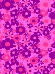 purple girly wallpaper. Contemporary Purple Purple Flowers Wallpaper Intended Girly G