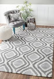 wonderful best 25 grey rugs ideas on rugs in living room within white and grey area rug modern