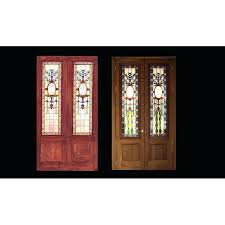 stain glass doors stained glass doors for home in stained glass panels for exterior doors