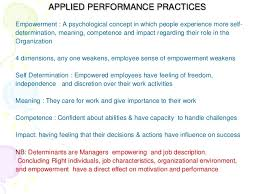 organizational behavior chapter and   predetermined price 5 applied performance practices