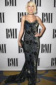 Small Picture Taylor Swift Slays In Edgy Leopard Print Velvet Gown At BMI Pop