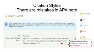 Apa Citation Letter Autocrossnet