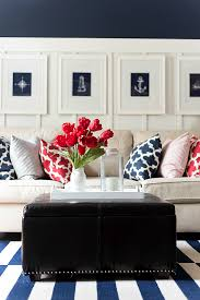 red white and blue decorating ideas