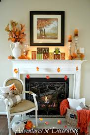 full size of adventures in decorating our simple fall mantel pretty living room ideas uk