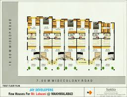 modern row house designs floor plans thoughtyouknew us