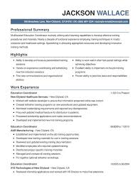 Education Combination Resume Resume Help