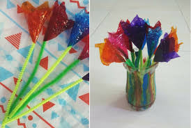Chocolates Wrappers Diy Mothers Day Flowers With Chocolate Wrappers