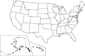 United States Map Coloring 50 States Coloring Pages Map Of The