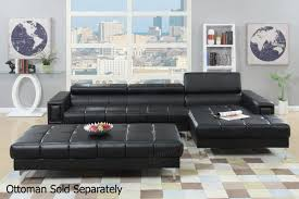 black leather sectional sofas. Beautiful Leather Chester Black Leather Sectional Sofa With Sofas S