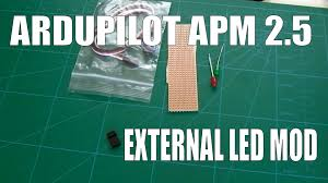 arducopter ardupilot apm 2 5 simple external led mod