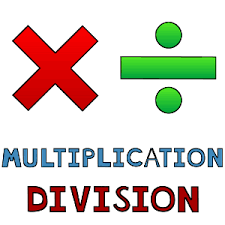 Image result for multiplication and division clipart
