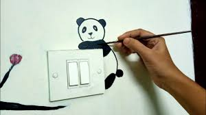 Switchboard Wall Painting Designs